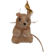Sweet Steiff Pieps Mouse, 1959 to 1964, Steiff Button