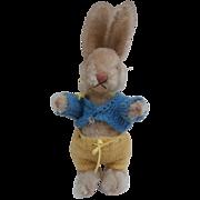Poor Niki Steiff Bunny Rabbit, 1959 to 1960 No Id's