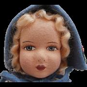 Daisy, Sweet Vintage Cloth Doll, All Original Clothes
