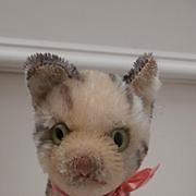 Steiff Tabby Cat, 1967 to 1975, No Id's