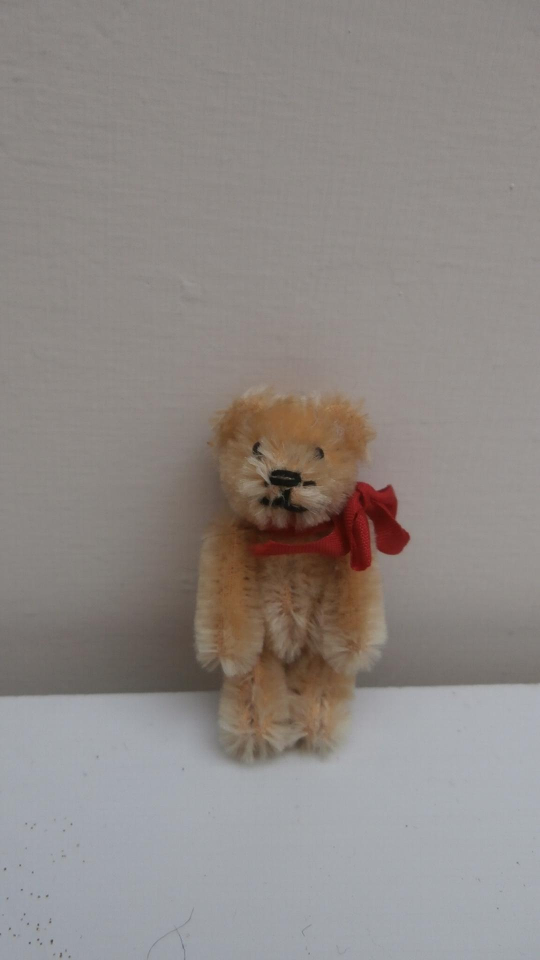 Miniature Schuco  Vintage Teddy Bear
