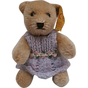 Steiff Miniature Teddy Bear, 1989 to 1990, Steiff  Button