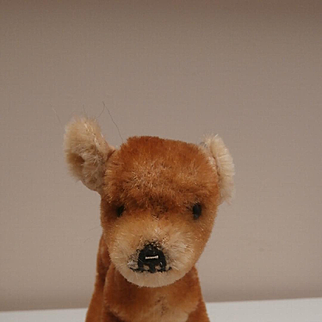 Sweet Steiff Fawn, 1958 to 1964, No Id's