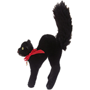 Steiff Tom Cat, Lucky Black Cat, 1967 to 1976