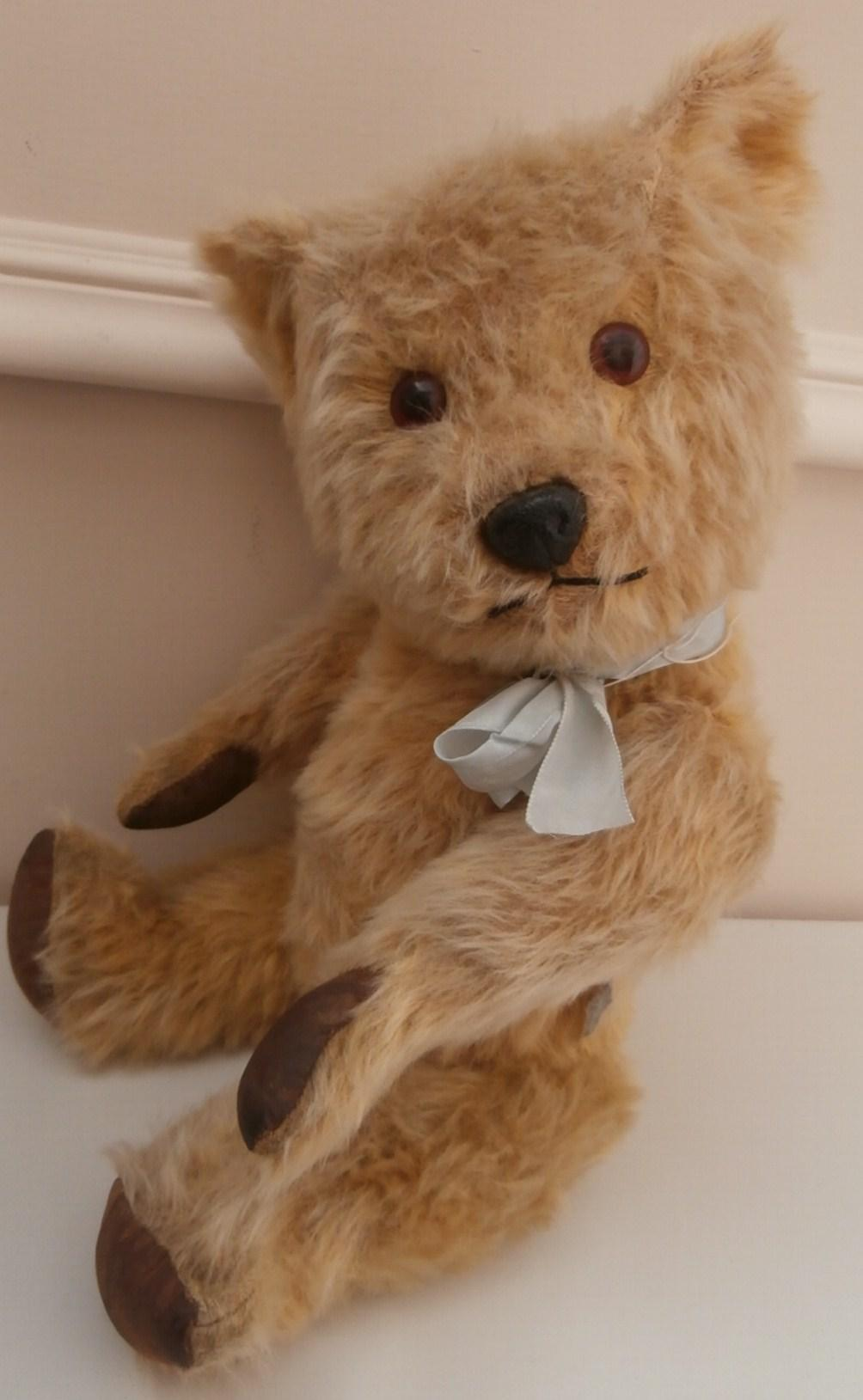 Sam, Fabulous Vintage Chiltern  Hugmee Teddy Bear with Chiltern Label