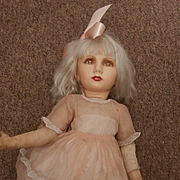 Mandy, Rare Deans Rag Company 'Kleenagane' 1938 /1940 Cloth Doll A/F
