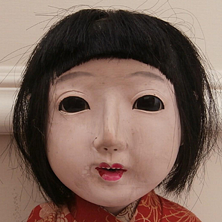 Lovely Old Japanese Doll