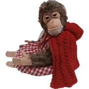 Darling Steiff Jocko Monkey, 1958 to 1964, No Button