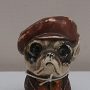 Unusual Vintage Comical Bull Dog Character, Possible Rattle