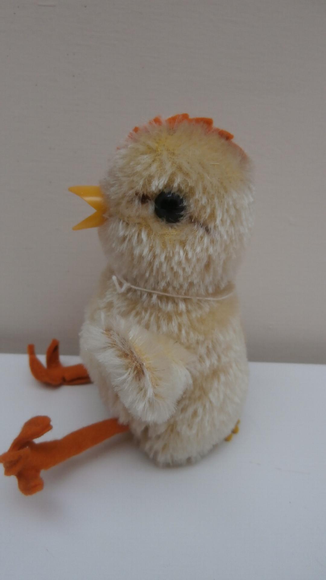 Steiff Chick, 1959 to 1964, Steiff Button