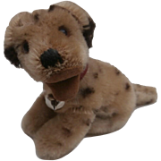 Steiff Dally Dalmation Dog 1959 to 1964, Steiff Button, A/F