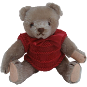 Boris, Small  Vintage Hermann Teddy Bear