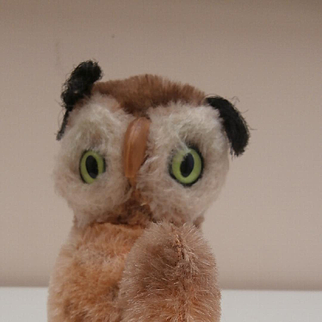 Steiff Wittie Owl, 1965 to 1967, No Id's