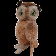 Steiff Wittie Owl, 1965 to 1967, No Id's