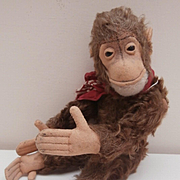 Darling Steiff Jocko Monkey, 1958 to 1964, No Id's
