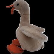 Steiff Tulla Goose,  Steiff Button ,1952 to 1964