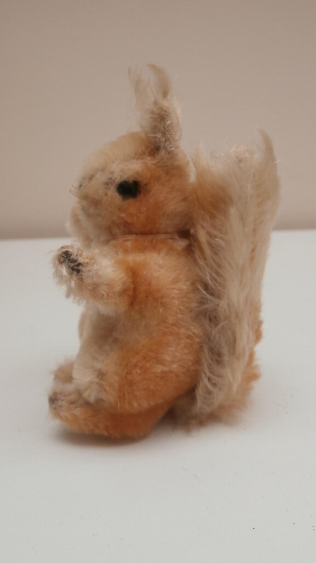 Steiff Possy Squirrel, 1968 to 1975, No Button