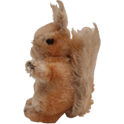 Steiff Possy Squirrel, 1968 to 1975, No Button