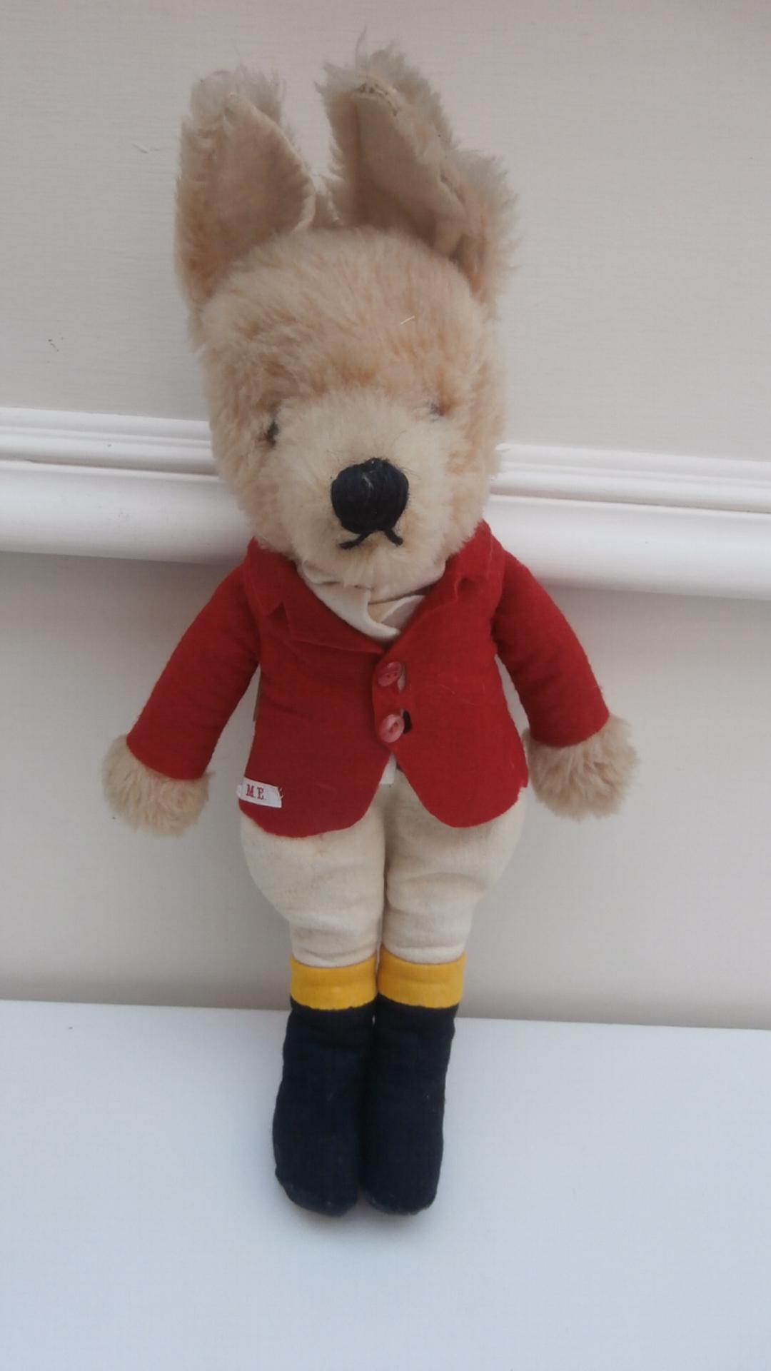 Gorgeous Vintage Mr Fox Dressed as Huntsman
