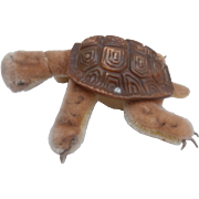 Steiff Slo, Tortoise, Turtle , Steiff Button 1967 to 1975
