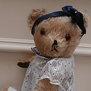 Petulia, Vintage British Teddy Bear