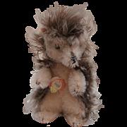 Sweet Steiff  Joggi Hedgehog, 1965 to 1970, Steiff Chest Tag