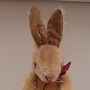 Hermann Vintage Jointed Bunny Rabbit, Hermann Tag
