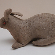 Rare Early Primitive Bunny Rabbit