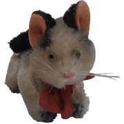 Lovely Miniature Schuco Mascot Pussy Cat, 1956