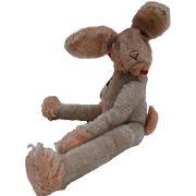 Steiff Lulac Bunny Rabbit, 1969 to 1970, Steiff Button