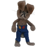 Schuco Miniature Mascot Bunny Rabbit