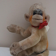 Steiff Mungo Monkey 1959 to 1964, No Id's