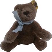 Steiff  Vintage Flexible Miniature  Original Teddy Bear
