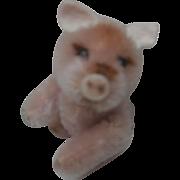 Rare Miniature Schuco Pink Pig, Noah's Ark Series