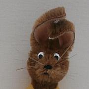 Sweet Schuco Mascot Bunny Rabbit , 1950's