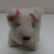 Rare Schuco White Terrier, Mascot Series, 1950's