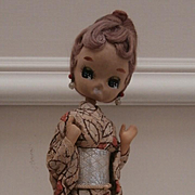 Vintage Japanese Geisha Girl Doll, Bradley Style