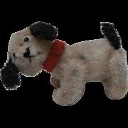 Rare  Colour Miniature Schuco Lady Dog