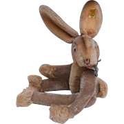 Steiff Rabbit 'Lulac' ,1959 to 1964, Steiff Button