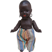 Sweet  Heubach Koppelsdorf Black Baby Doll  399,  Smallest Size marked 17/0