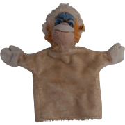 Steiff Mungo, Monkey Hand Puppet, Steiff Button, 1964 to 1968