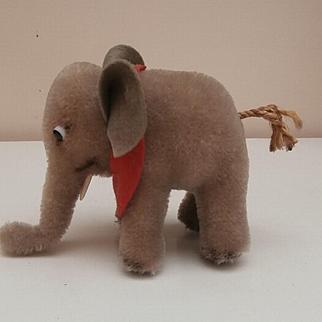 Steiff Elephant, 1958 to 1964, No Id's
