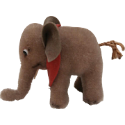 Steiff Elephant, 1958 to 1964, No Id's
