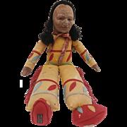 Rare Norah Wellings Native American Indian , 'Fleetfoot' Model K22, 1930's