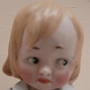 Sweet Little Vintage All Bisque Doll