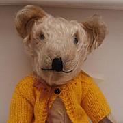 Darren , Unusual Vintage British Teddy Bear