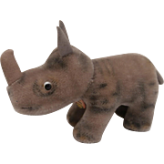 Steiff Nosy Rhinoceros, Steiff Chest Tag, 1967 to 1970