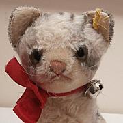 Steiff Larger Susi Cat, 1960,s, Steiff Button