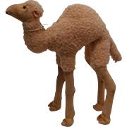 Larger steiff Camel, 1965 to 1969, Steiff Button, Working Squeaker