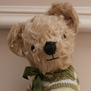 Happy, Vintage English Teddy Bear